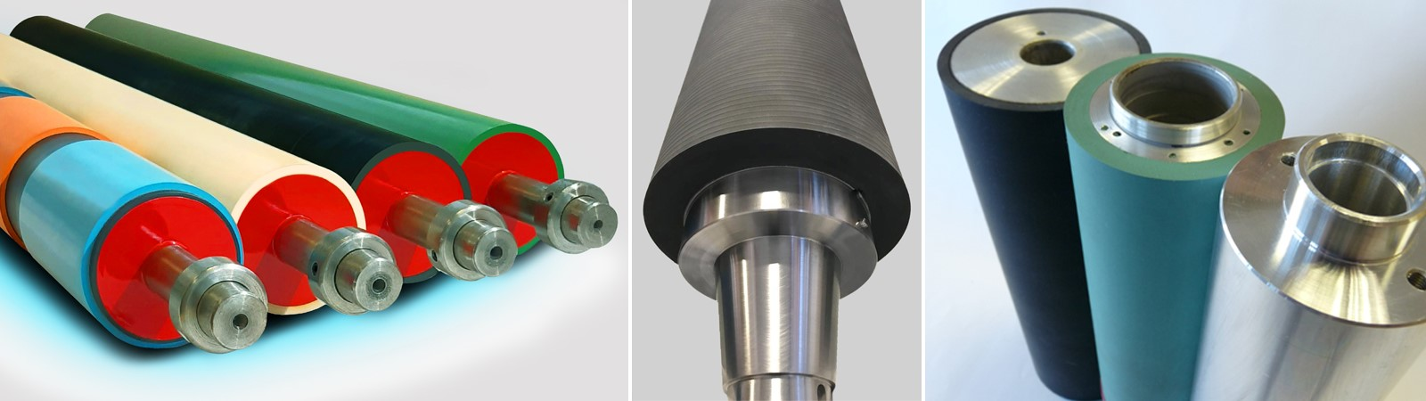 Rubber Covered Rollers - Rubber Covered Cylinders and Sleeves